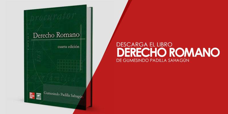 libro derecho romano gumesindo padilla pdf