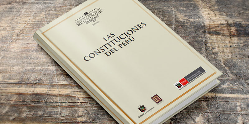 """Descarga en PDF el libro """"Las constituciones del Perú"""""""